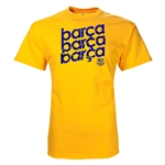 FC Barcelona Barca Graphic T-Shirt (Yellow)