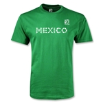 FIFA Confederations Cup 2013 Mexico T-Shirt (Green)