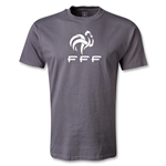 France FFF T-Shirt (Dark Gray)