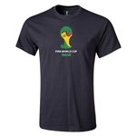 2014 FIFA World Cup Brazil(TM) Emblem T-Shirt (Black)
