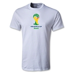 2014 FIFA World Cup Brazil(TM) Emblem T-Shirt (White)