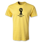 2014 FIFA World Cup Brazil(TM) Emblem T-Shirt (Yellow)