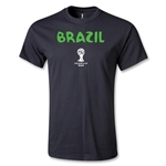 Brazil 2014 FIFA World Cup Brazil(TM) Core T-Shirt (Black)