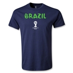 Brazil 2014 FIFA World Cup Brazil(TM) Core T-Shirt (Navy)