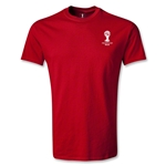 2014 FIFA World Cup Brazil(TM) Men's Emblem T-Shirt (Red)