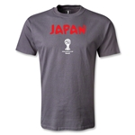 Japan 2014 FIFA World Cup Brazil(TM) Core T-Shirt (Dark Gray)