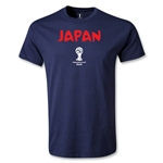 2014 FIFA World Cup Brazil(TM) Japan Core T-Shirt (Navy)