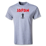 2014 FIFA World Cup Brazil(TM) Japan Core T-Shirt (Gray)