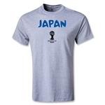 Japan 2014 FIFA World Cup Brazil(TM) Core T-Shirt (Gray)