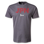 Japan 2014 FIFA World Cup Brazil(TM) T-Shirt (Dark Gray)