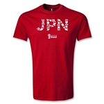 Japan 2014 FIFA World Cup Brazil(TM) T-Shirt (Red)