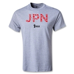 Japan 2014 FIFA World Cup Brazil(TM) Elements T-Shirt (Gray)