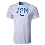 Japan 2014 FIFA World Cup Brazil(TM) T-Shirt (White)
