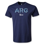 Argentina 2014 FIFA World Cup Brazil(TM) Elements T-Shirt (Navy)