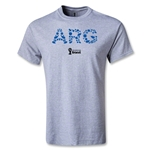 Argentina 2014 FIFA World Cup Brazil(TM) Elements T-Shirt (Gray)