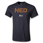Netherlands 2014 FIFA World Cup Brazil(TM) Elements T-Shirt (Black)