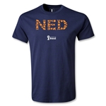 Netherlands 2014 FIFA World Cup Brazil(TM) Elements T-Shirt (Navy)