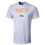 Netherlands 2014 FIFA World Cup Brazil(TM) Elements T-Shirt (White)