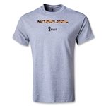 Netherlands 2014 FIFA World Cup Brazil(TM) Palm T-Shirt (Gray)