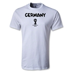 Germany 2014 FIFA World Cup Brazil(TM) Men's Core T-Shirt (White)