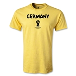 Germany 2014 FIFA World Cup Brazil(TM) Men's Core T-Shirt (Yellow)