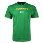 Germany 2014 FIFA World Cup Brazil(TM) Men's Palm T-Shirt (Green)