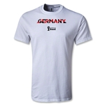 Germany 2014 FIFA World Cup Brazil(TM) Men's Palm T-Shirt (White)