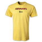 Germany 2014 FIFA World Cup Brazil(TM) Men's Palm T-Shirt (Yellow)