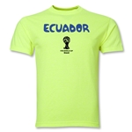 Ecuador 2014 FIFA World Cup Brazil(TM) Core T-Shirt (Neon Green)
