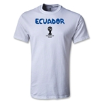 Ecuador 2014 FIFA World Cup Brazil(TM) Core T-Shirt (White)