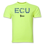 Ecuador 2014 FIFA World Cup Brazil(TM) Palm T-Shirt (Neon Green)