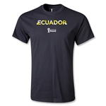 Ecuador 2014 FIFA World Cup Brazil(TM) Palm T-Shirt (Black)