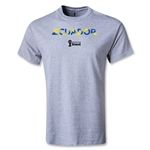 Ecuador 2014 FIFA World Cup Brazil(TM) Palm T-Shirt (Gray)