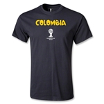 Colombia 2014 FIFA World Cup Brazil(TM) Core T-Shirt (Black)