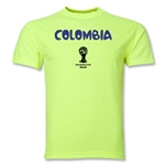Colombia 2014 FIFA World Cup Brazil(TM) Core T-Shirt (Neon Green)