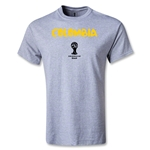 Colombia 2014 FIFA World Cup Brazil(TM) Core T-Shirt (Gray)