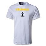 Colombia 2014 FIFA World Cup Brazil(TM) Core T-Shirt (White)