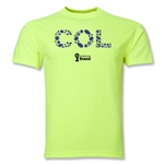 Colombia 2014 FIFA World Cup Brazil(TM) Elements T-Shirt (Neon Green)