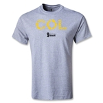 Colombia 2014 FIFA World Cup Brazil(TM) Elements T-Shirt (Gray)