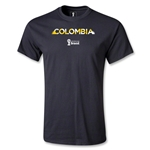 Colombia 2014 FIFA World Cup Brazil(TM) Palm T-Shirt (Black)