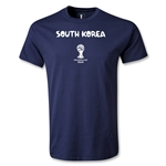 South Korea 2014 FIFA World Cup Brazil(TM) Men's Core T-Shirt (Navy)