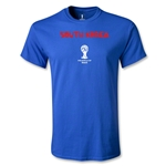 South Korea 2014 FIFA World Cup Brazil(TM) Men's Core T-Shirt (Royal)
