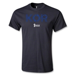 South Korea 2014 FIFA World Cup Brazil(TM) Men's Elements T-Shirt (Black)