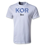 South Korea 2014 FIFA World Cup Brazil(TM) Men's Elements T-Shirt (White)