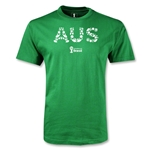 Australia 2014 FIFA World Cup Brazil(TM) Men's Elements T-Shirt (Green)