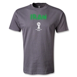 Iran 2014 FIFA World Cup Brazil(TM) Men's Core T-Shirt (Dark Grey)