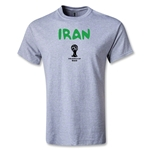 Iran 2014 FIFA World Cup Brazil(TM) Men's Core T-Shirt (Grey)