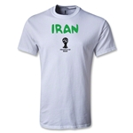 Iran 2014 FIFA World Cup Brazil(TM) Men's Core T-Shirt (White)