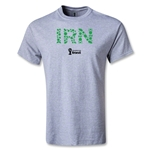 Iran 2014 FIFA World Cup Brazil(TM) Men's Elements T-Shirt (Gray)