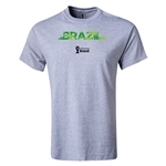 Brazil 2014 FIFA World Cup Brazil(TM) T-Shirt (Gray)